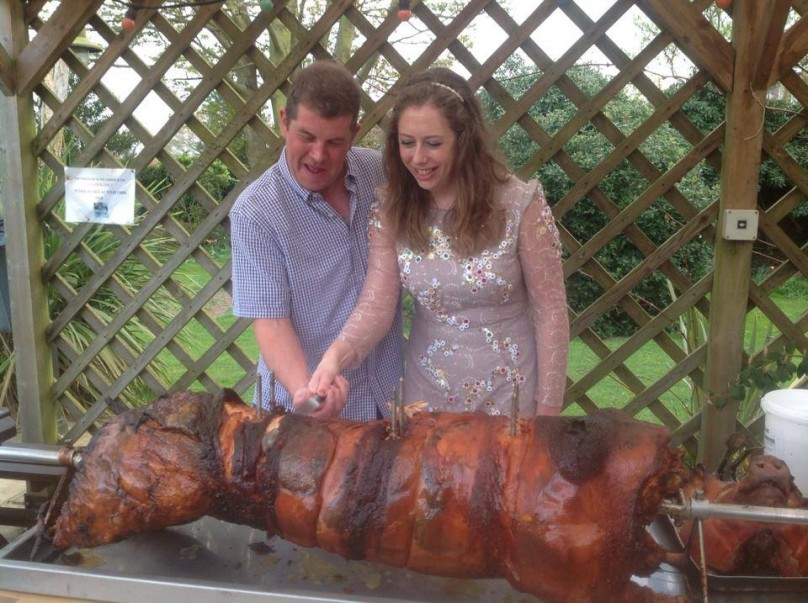 Hog Roast for your Event at The Bull